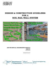 100 geotechnical design manual geotechnical site