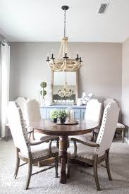 White Dining Room Buffet Media Stand To Buffet Table Makeover