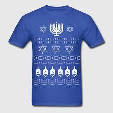 hanukkah clothing happy hanukkah sweater shirt t shirt spreadshirt