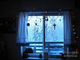 Window Ornaments With Lights Alaska Window Decorations And Lights Viewing Sunlit
