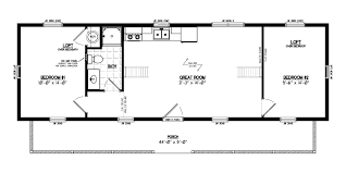 16x40 lofted cabin floor plans homes zone 57 lovely 14 40 cabin floor plans house 16 40 home