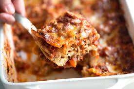 perfect sausage and beef lasagna recipe