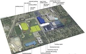 Stadium Floor Plans Portage Schools Oks Campus Master Plans For Middle Schools Pools