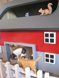 Toy Wooden Barns For Sale Large Kids Toy Wooden Barn Includes 4 Sections By Thesquarenail