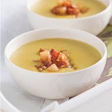 poireaux cuisine velouté de poireaux poires et pancetta recettes cuisine et