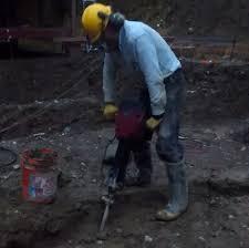 foundations dig foundation