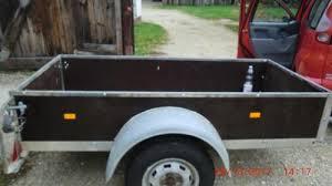 auto mit ladefläche kfz anhänger ungebremst ladefläche 210x102x40cm tüv neu in bayern