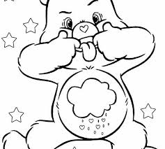 carebear coloring pages printable care bears coloring pages