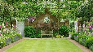 This Mature Formal English Garden Is The Height Of Sophistication