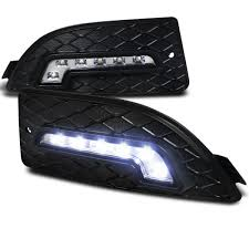 Black Diamond Lights Spec D Led Daytime Running Lights Ldr Rsx06 Rs For Acura Rsx