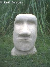 easter island garden ornament free p p co uk garden