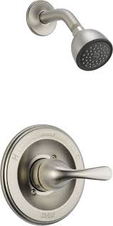 delta t13220 ss monitor 13 series shower trim stainless shower