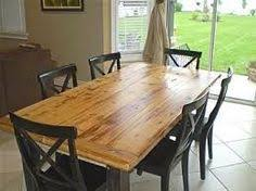 Farmers Kitchen Table by Reclaimed Wood Table Tops Restaurant Table Tops Reclaimed Wood