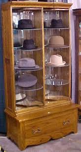 Antique Brass Display Cabinet Hat Store Display Cabinet Oak Brass Lantern Antiques