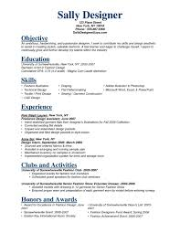 how to write a resume for retail sample cv targeted at fashion