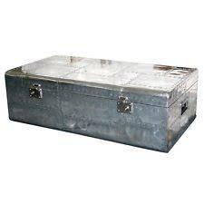 Aluminum Coffee Table Contemporary Aluminum Coffee Table Tables Ebay