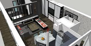 plan salon cuisine sejour salle manger cuisine ouverte sur salon 30m2 9 plan salon cuisine sejour