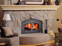 intriguing and good arched fireplace insert meant for furnishings