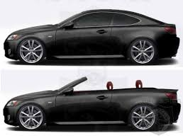 lexus is 250 convertible it s official lexus is 250 convertible will debut at motor