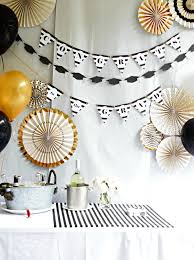 Graduation Party Centerpieces For Tables by Classic Black And White Graduation Party Decorations With Gold Accens