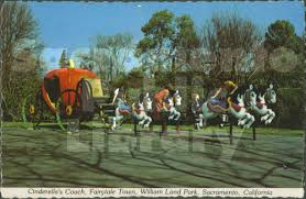 cinderella coach calisphere cinderella s coach fairy tale town william land park
