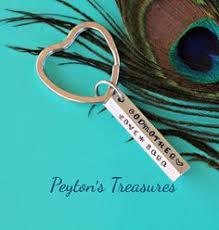godmother keychain godparent keychain gift for godparents gift for godmother gift