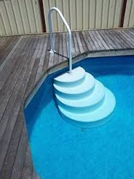 wedding cake pool steps wedding cake above ground pool steps wedding cake steps for above