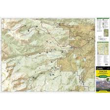 National Geographic Topo Maps National Geographic Longs Peak Bear Lake Rmnp Trails Illustrated
