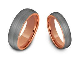 matching wedding band sets tungsten matching wedding band set matching bands his hers