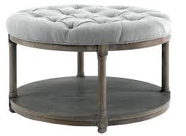 ottoman tufted round ottoman coffee table round tufted ottoman