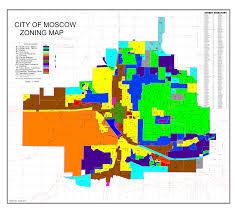 Moscow On Map City Of Moscow Zoning Paradise Ridge Homesparadise Ridge Homes