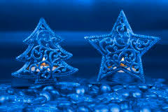 star shaped tea lights gold christmas star shaped tea light holder stock image image of