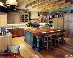 rustic kitchen home design ideas