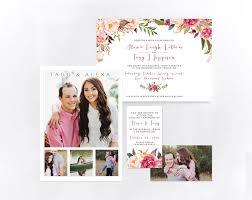lds wedding invitations 5x7 invitations anthology print