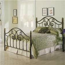 fashion bed group metal beds king california king winslow