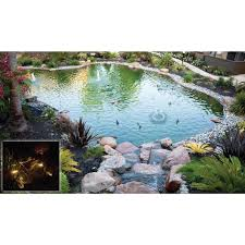 Backyard Fish Pond Kits Koolatron 700 Gallon Pond Kit 187149 Pool U0026 Pond At