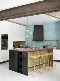 ilots central de cuisine la cuisine équipée avec îlot central 66 idées en photos archzine fr