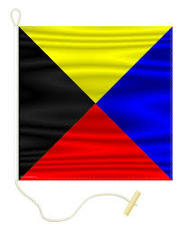 nautical flag buy nautical signal flag z zulu individual signal flags