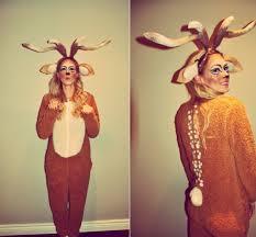 Deer Antlers Halloween Costume Deerific Diy Halloween Costume Staffordable