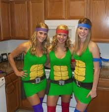 Ninja Turtle Halloween Costumes 35 Creative Diy Halloween Costumes Women Highpe