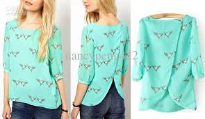 summer blouses 2013 fashion green summer chiffon blouses for sleeve