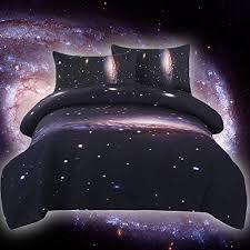 warm tour dhl 4pcs galaxy bed set galaxy duvet cover kids space