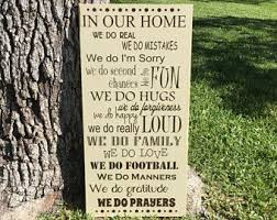 House Family Best 25 House Rules Sign Ideas On Pinterest Family Rules Sign