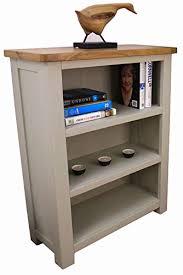 Aspen Bookcase Aspen Painted Oak Sage Grey Bookcase Small 3 Shelf Bookcase