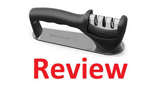 simpletaste kitchen knife sharpener review youtube