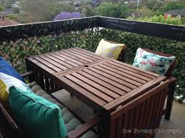 small balcony ideas how we created an oasis what we did