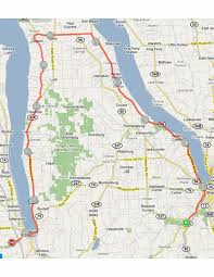 Ithaca Map Finger Lakes Bicycle Camping Tour U2013 Bike New England
