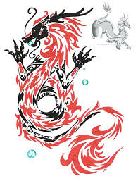 tribal chinese dragon tattoos tribal tattoos and designs page 275