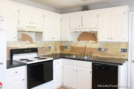 Beadboard Kitchen Backsplash by Kindle Your Creativity Diy Beadboard Backsplash