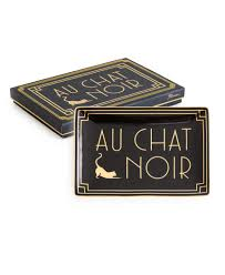 Jazz Age Tray Au Chat Noir Tableware And Home Decor Seattle WA - Home decor seattle